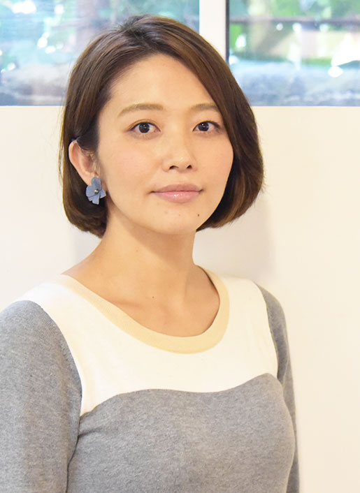 レセプション 小川 奈保子 Nahoko Ogawa